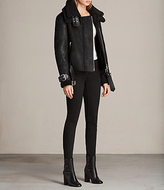 Women's Howell Shearling (Black) - Image 3