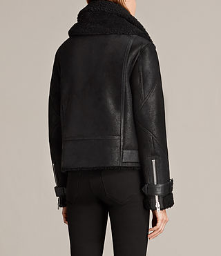 Women's Howell Shearling (Black) - Image 7