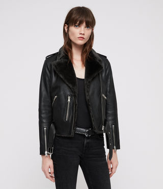 Balfern Lux Leather Biker Jacket