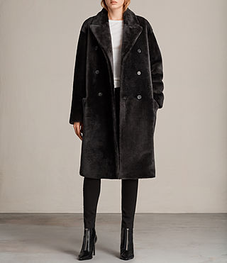 anstey shearling coat