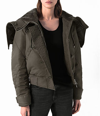 Donne Bomber Haze (Khaki Green) - product_image_alt_text_2