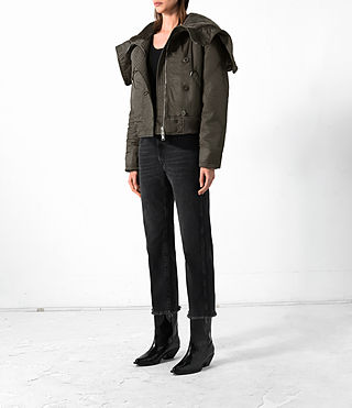 Donne Bomber Haze (Khaki Green) - product_image_alt_text_3