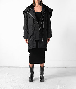 Damen Loop Parka (Black) -