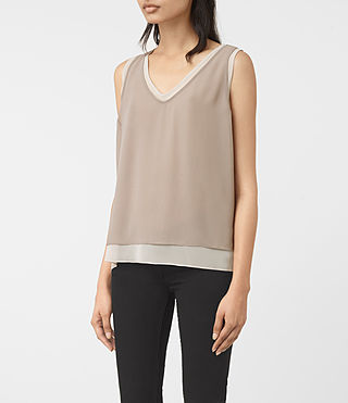 Mujer Twin Top (Taupe/Stone) - product_image_alt_text_2