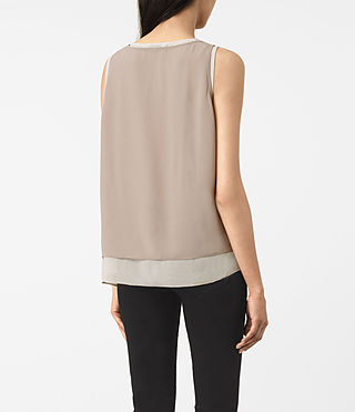 Women's Twin Top (Taupe/Stone) - product_image_alt_text_3