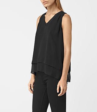 Mujer Twin Top (Black/Black) - product_image_alt_text_2