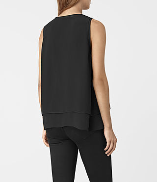 Mujer Twin Top (Black/Black) - product_image_alt_text_3