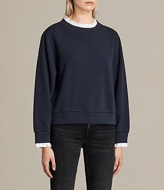 Damen Agata Sweatshirt (Ink Blue) - product_image_alt_text_2