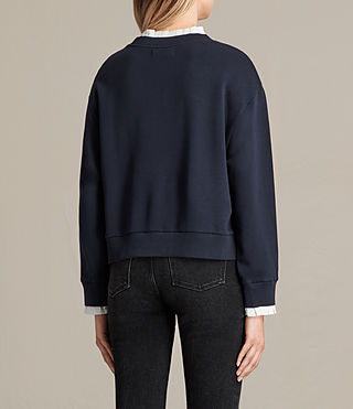Damen Agata Sweatshirt (Ink Blue) - product_image_alt_text_3