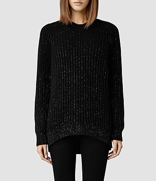 Womens Lovise Sweater (Black)