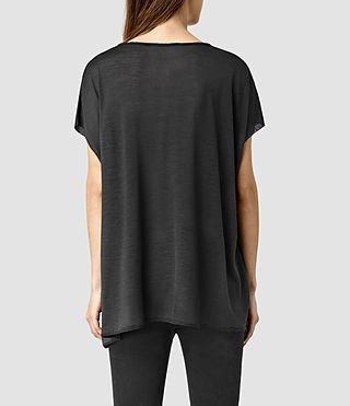 Women's Ole Tee (PIRATE BLACK) - product_image_alt_text_3