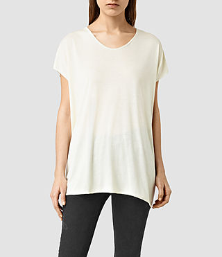 Mujer Ole Tee (SMOG WHT/SMOG WHT) - product_image_alt_text_1