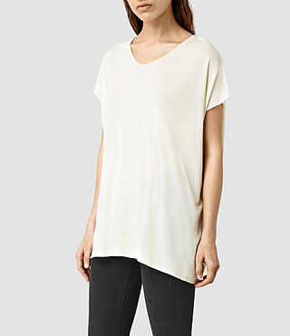 Mujer Ole Tee (SMOG WHT/SMOG WHT) - product_image_alt_text_2