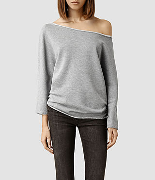 Womens Ren Sweat (Grey Marl)