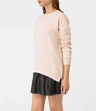 Womens Lea Sweatshirt (Quartz Pink) - product_image_alt_text_2