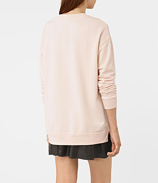 Womens Lea Sweatshirt (Quartz Pink) - product_image_alt_text_3
