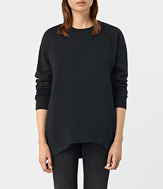 Womens Lea Sweatshirt (Jet Black)