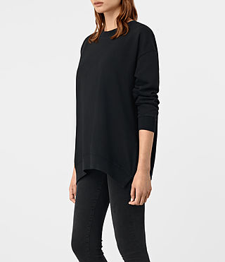 Femmes Lea Sweat (Jet Black) - product_image_alt_text_3