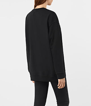 Femmes Lea Sweat (Jet Black) - product_image_alt_text_4