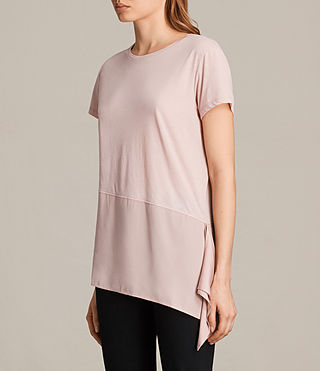 Womens Lauryn Tee (NUDE PINK/PETAL) - product_image_alt_text_2