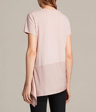 Womens Lauryn Tee (NUDE PINK/PETAL) - product_image_alt_text_3