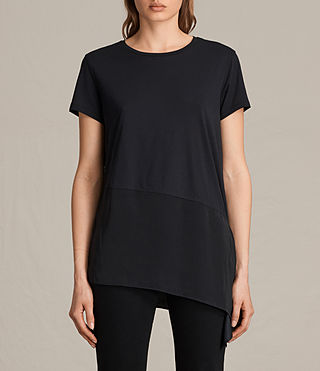 Donne Lauryn Tee (Black/Black) -