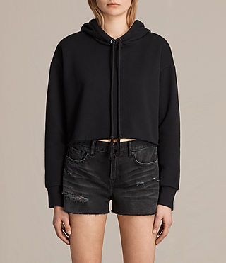 Womens Rea Hoody (Black)