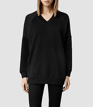 Womens Nero Sweat (Black)