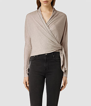 Womens Rener Top (Sable Marl)