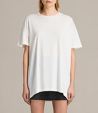 Womens Cora Tee (Chalk White)