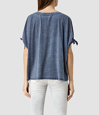 Mujer Catkin Tee (DARK NIGHT BLUE) - product_image_alt_text_3