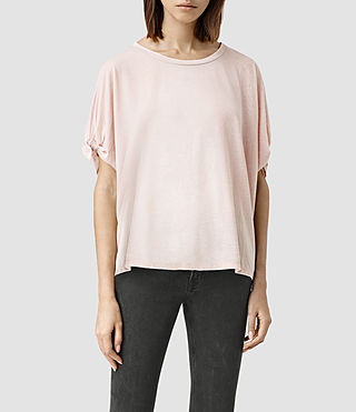 Womens Catkin Tee (ROSE PINK)