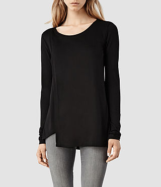 Womens Ceri Top (Black)