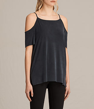 Mujer Top Tyra (Washed Black) - product_image_alt_text_2