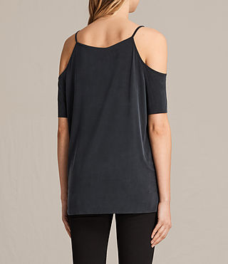 Mujer Top Tyra (Washed Black) - product_image_alt_text_3