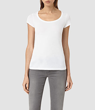 Womens Stam Tee (Optic)