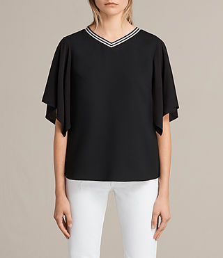 Womens Alice Top (Black) - product_image_alt_text_1