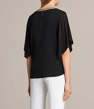 Womens Alice Top (Black) - product_image_alt_text_3
