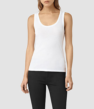 Womens Stam Tank (Optic)