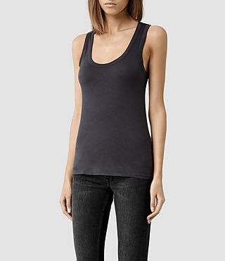 Mujer Stam Vest (Washed Black) - product_image_alt_text_2