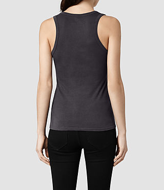 Mujer Stam Vest (Washed Black) - product_image_alt_text_3