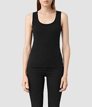Womens Stam Tank (Jet Black)