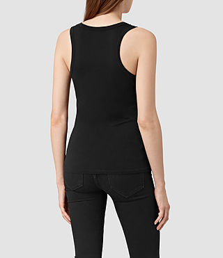 Mujer Stam Tank (Jet Black) - product_image_alt_text_4