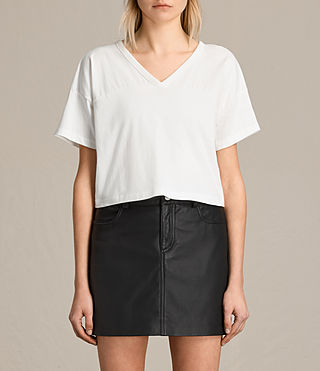 Damen Breeze Tee (Chalk White)