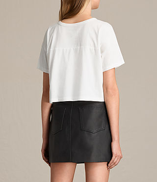 Women's Breeze Tee (Chalk White) - product_image_alt_text_3