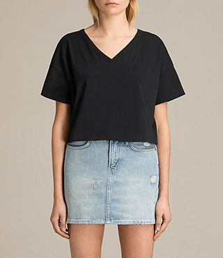 Donne T-shirt Breeze (Black) -