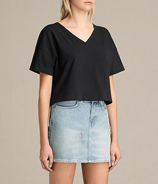 Women's Breeze Tee (Black) - product_image_alt_text_2