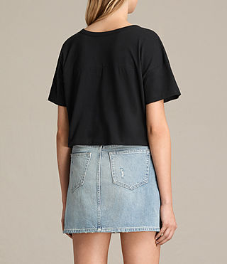 Donne T-shirt Breeze (Black) - product_image_alt_text_3
