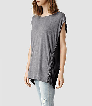 Womens Soph T-shirt (Black) - product_image_alt_text_2