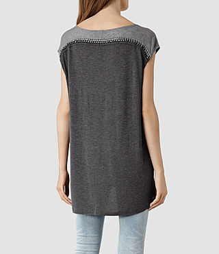 Womens Soph T-shirt (Black) - product_image_alt_text_3